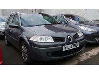 2007 07 RENAULT MEGANE DYNAMIQUE 1.6 ESTATE MOT 03/18 (CHEAPER PART EX WELCOME)