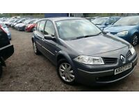 Renault Megane 1.6 VVT Dynamique 5dr, HPI CLEAR, LOW MILEAGE, LONG MOT, SPACIOUS INSIDE, P/X WELCOME