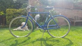 1980 Raleigh Traveller Bicycle.