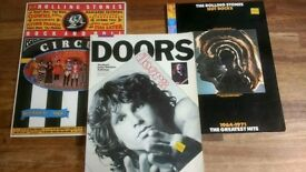 Guitar Tab books - The Doors & The Rolling Stones