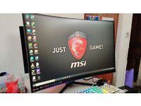 MSI Optix G24C4 144hz 1 ms