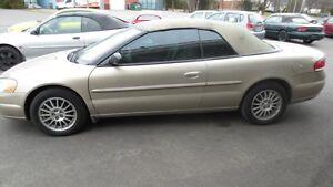 2004 Chrysler Sebring Convertible LX special 4995