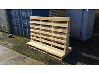 2 Wooden Stillages for collection