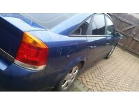 Vauxhall Vectra on 52 Plate With MOT
