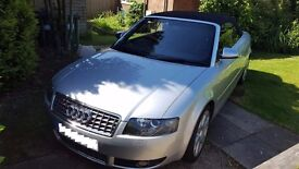 Stunning Audi S4 Convertible V8 2004 Very Low Miles £6750