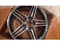 """4 x 18"""" NEW Mercedes BENZ ALLOY WHEELS AMG MERC A B C E G S CLASS CLC CLS SL SLK C63 E63"""
