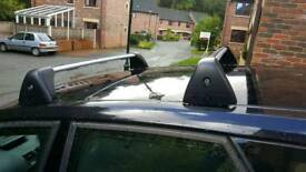 Genuine Vauxhall meriva b roof bars.