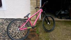 jump bike custom ns identiti dmr bmx