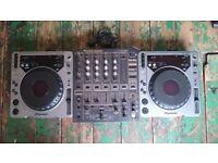 Pioneer cdj mk1 800 x2 pioneer djm 600