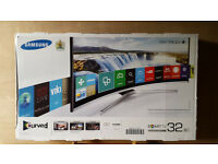 Samsung UE32J6300A 32 Inch HD Freeview HD Smart Curved LED TV - New in box -