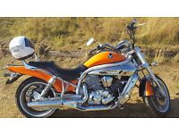 Hyosung gv650. 2007reg great ride new tyres within last 1000 miles. 11 months mot £1500ono