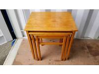 Nice little retro 60s G-plan era nest of tables in good condition