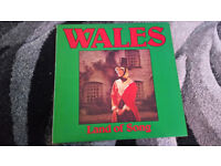 Wales land of song vintage vinyl lp record