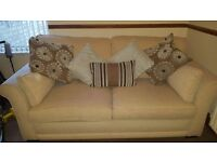 Scs sofa bed. Excellent condition. Scatter cushions included. Divan mattress. Smoke & pet free home.