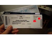FISH (Marillion) x1 ticket @ Islington Assembly Hall Saturday 16th December