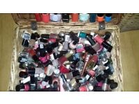Cristian DIor to Revlon and more. 50-100 nail varnishes.most unused