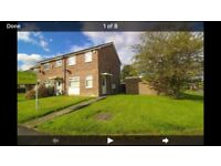 3 Bed Semi To Let
