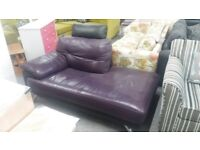 Real leather Chaise lounge
