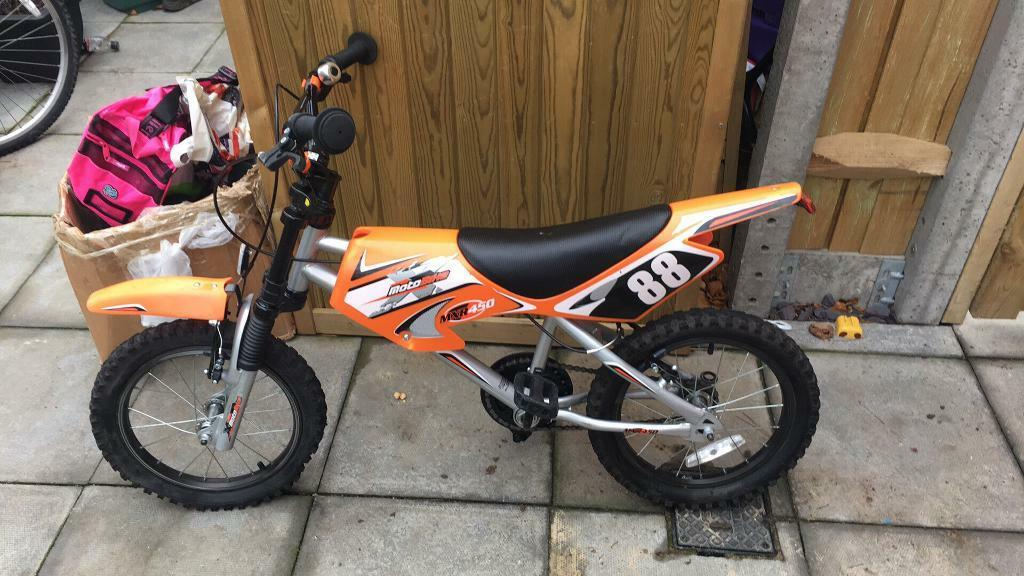 Child motorcross bike