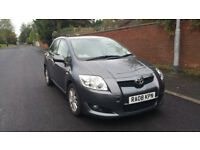 2008 Diesel Toyota Auris T Spirit D4D with 5 doors long MOT and Full service history
