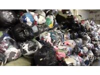 wholesale of used clothes