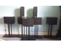 Theatre 8, Dolby 5.1, THX approved high quality Tuefel set of 8 speakers and Pioneer Amplifier