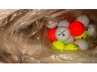12 inesis long golf balls