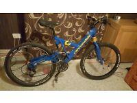 Blue Cannondale Super V 1000 Bike