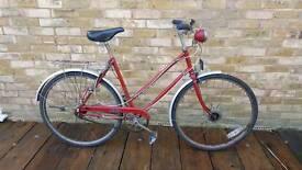 Beautiful vintage rudge bike