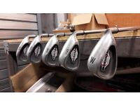 CALLAWAY BIG BERTHA IRONS WITHIN A MIXED SET OF CLUBS BARGAIN PRICE