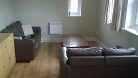A one bedroom part furnished, 1st floor flat flat in Steventon to let