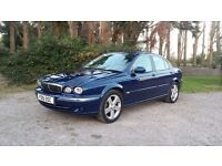 2001 JAGUAR X-TYPE SE 2.5 V6 4WD MANUAL BLUE - FOUR WHEEL DRIVE