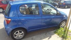 Toyota yaris 2002 colour collection