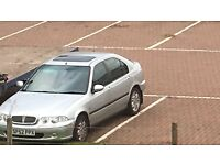 07448726209 rover 45 spare or repair with towbar alloys and mot etc...