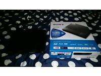 Sony Blu-ray player £50 or with movie £55