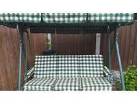 3 seater swinging chair with canopy