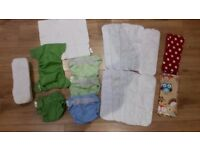 Washable nappy bundle - FLIP nappies by bumgenious, birth to potty system (8lb-35lb)