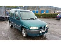 2001 (51 Reg) Citroen Berlingo LPG Converted 1.4 i Forte 5dr FOR £250, Mot'd til 04/08/2017
