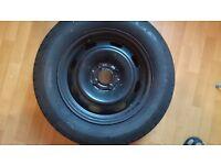 Peugeot 307, full size spare wheel