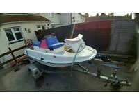 Jet ski - fishing boat - speed boat