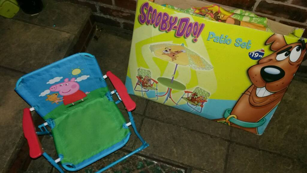 Childrens chair n table set
