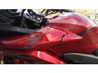Honda Cbf 125 3000 miles, 2014 plates, Danmoto exhaust after small collision