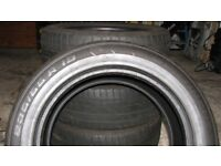 Four Continental Cross Contact tyres 235 55 19 105v UHP E