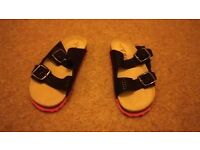 Girls sandles size 2 from Next