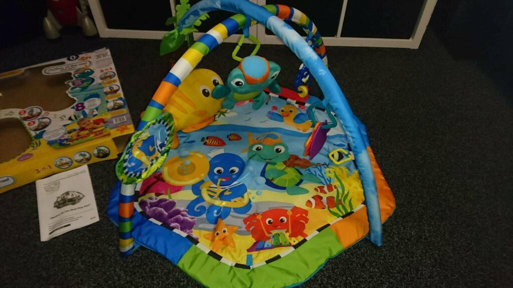 Baby Einstein Rhythm of the reef Musical play mat play gym