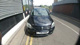 Volkswagen Golf Plus 1.9TDI DSG Automatic