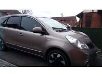 Nissan Note 1.5 n-tec+ 2013, in good condition with service history