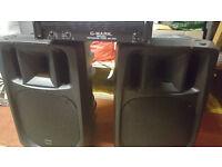 Dj/Disco Amp and speakers