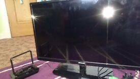 28 inch flat screen tv, great condition, portable ariel include, no remote