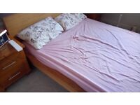 European (Ikea) Double Bed and mattress